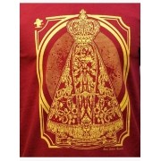 Camiseta Masculina Sacudido's Nossa Senhora Vinho