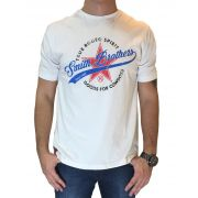 Camiseta Masculina Smith Brother's Branca Ref. Good For Cowboys
