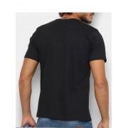 Camiseta Masculina Wrangler Básica Preta Ref. WM58521PR
