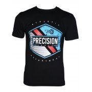 Camiseta Precision Ropes SilK Preta Ref. 6003