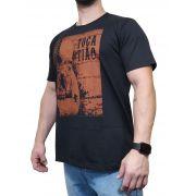 Camiseta Sacudido's  Preta Ref. Toca Tião