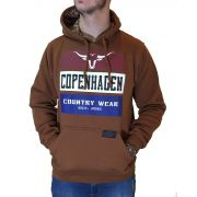 Moletom Masculino Copenhagen Ref. Marrom/Country Wear
