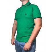 Polo Masculina Smith Brother's Verde/Preta
