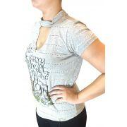 T-shirt Feminina Minuty Shoquer Ref. 370
