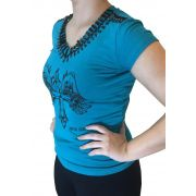 T-shirt Feminina Smith Brother's Pedraria Ref. 27976