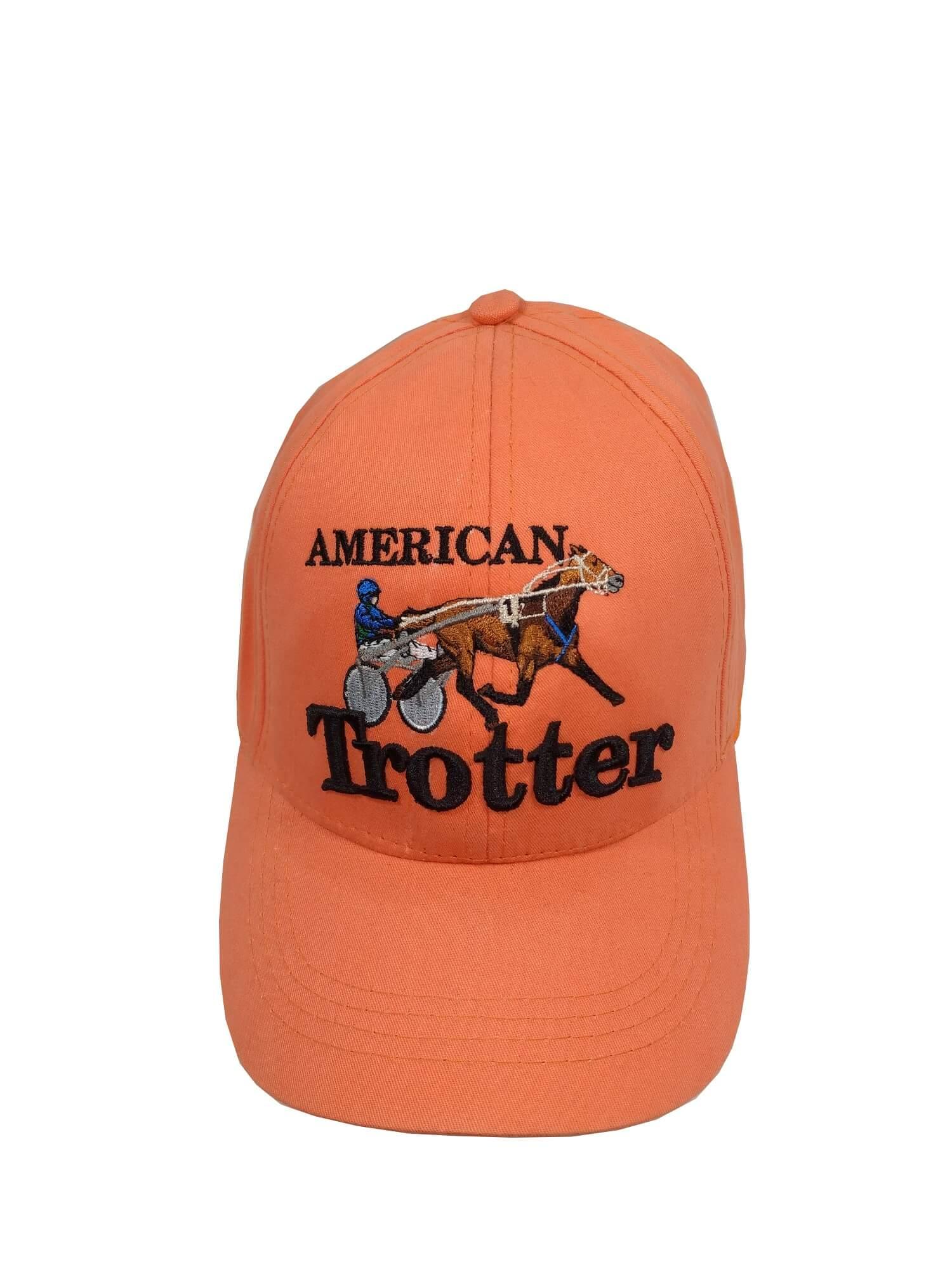 Boné American Trotter Laranja Ref. 7786