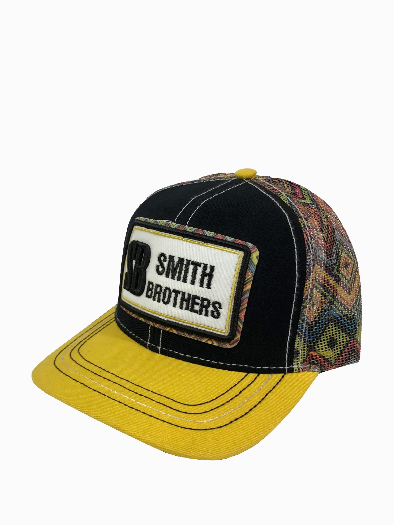 Boné Feminino Smith Brother's Estampado Amarelo