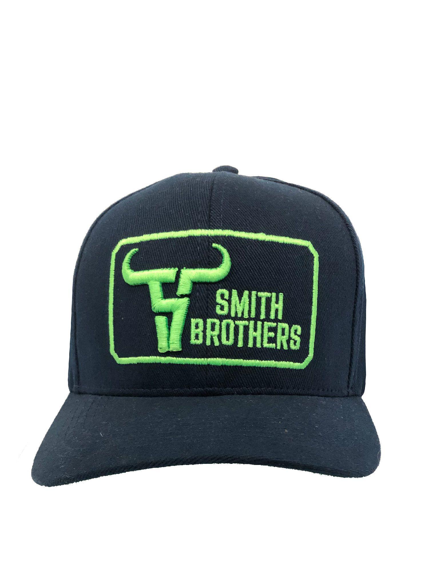 Boné Smith Brothers New Log Green