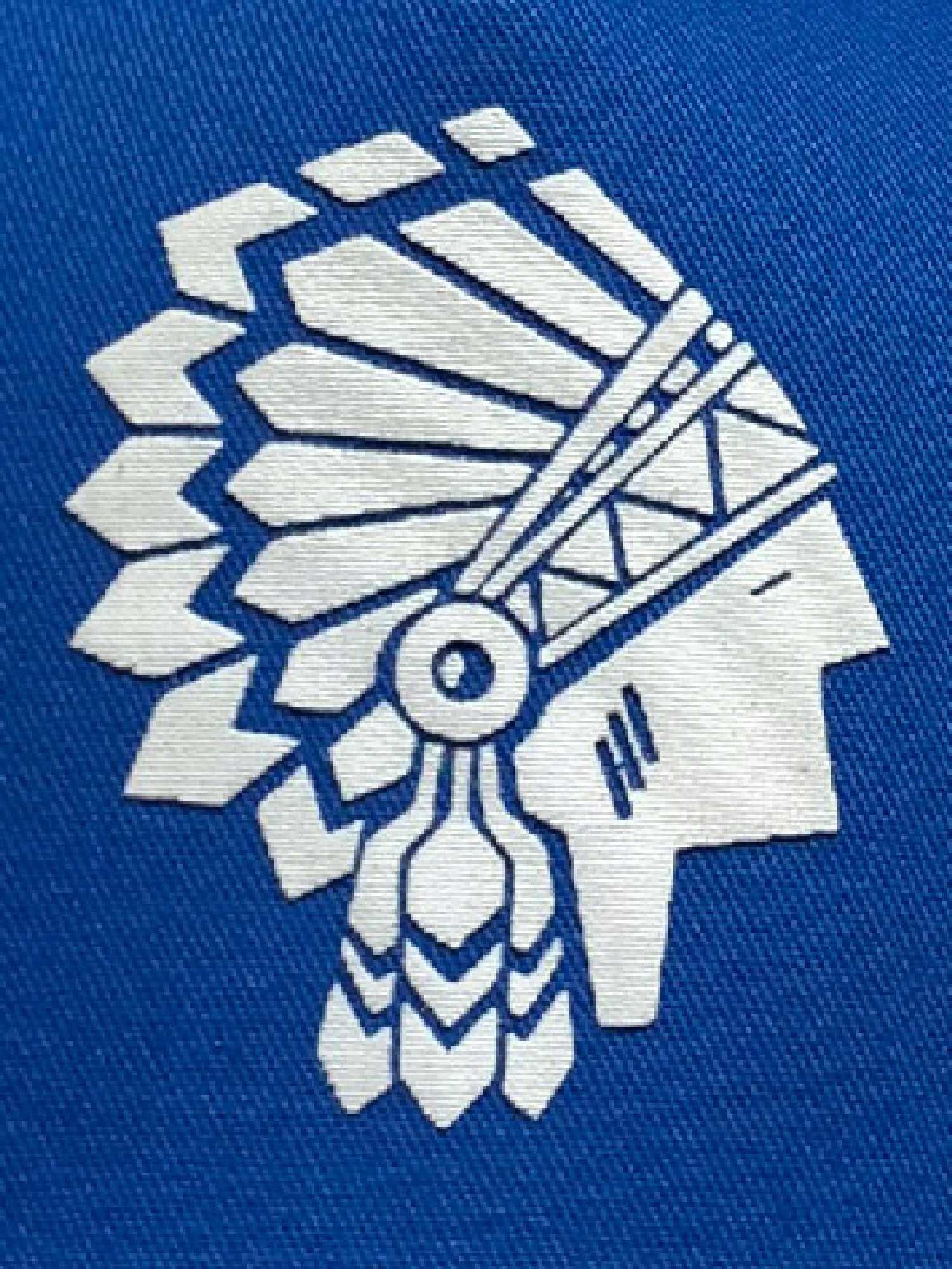 Boné Spirit West Azul Silk Branco Ref. 202002