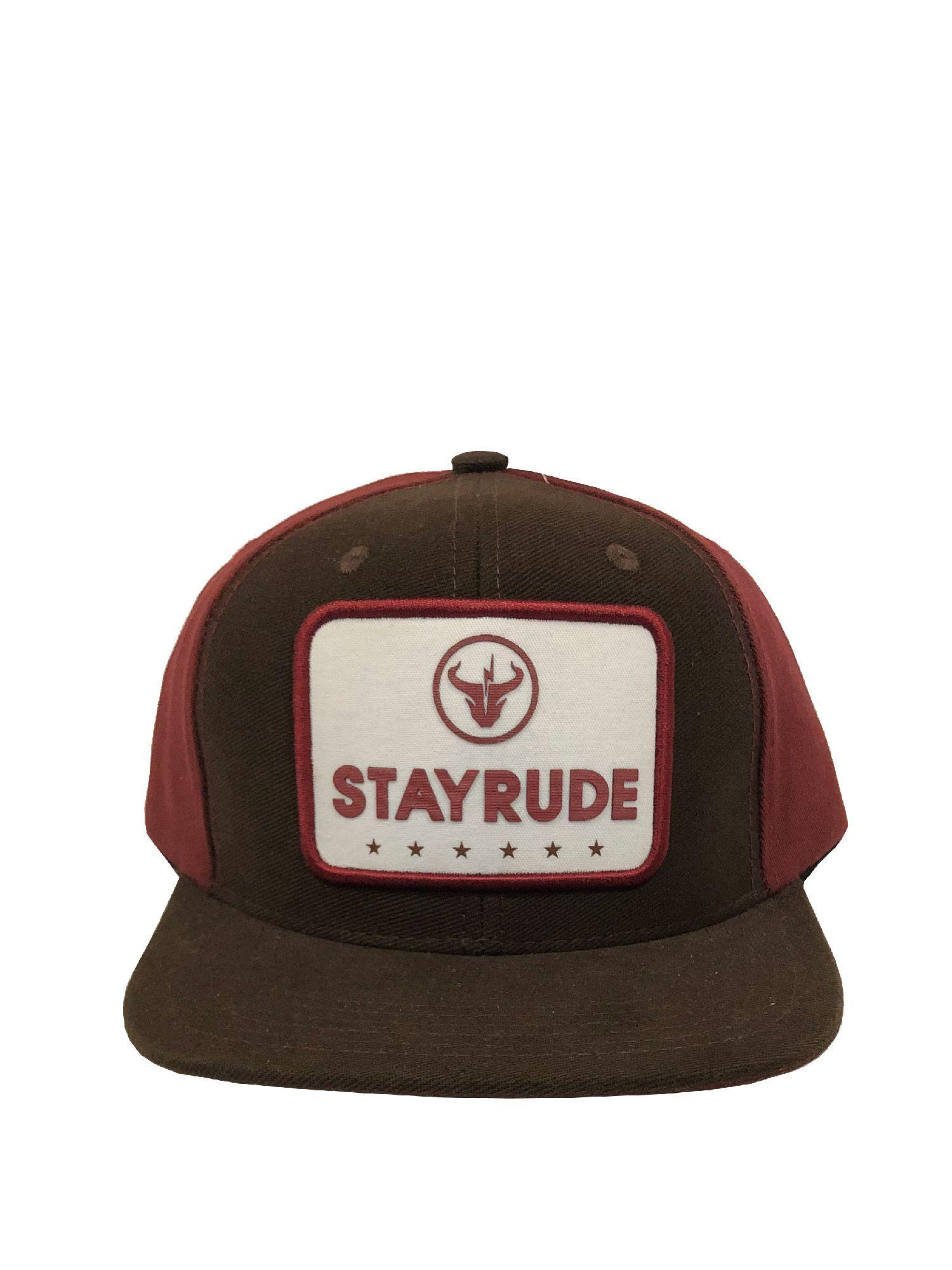Boné Stay Rude Marrom / Vinho