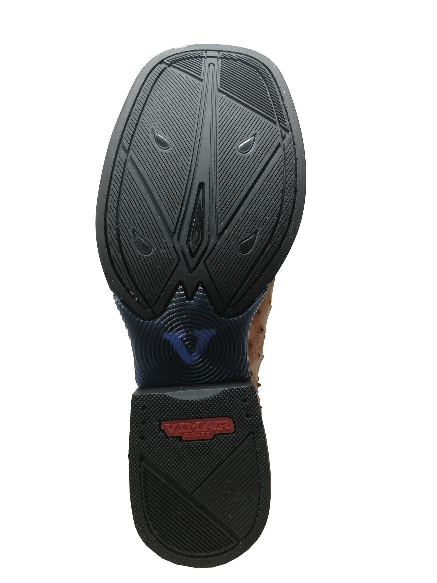 Bota Black Horse Avestruz Ref. 81252