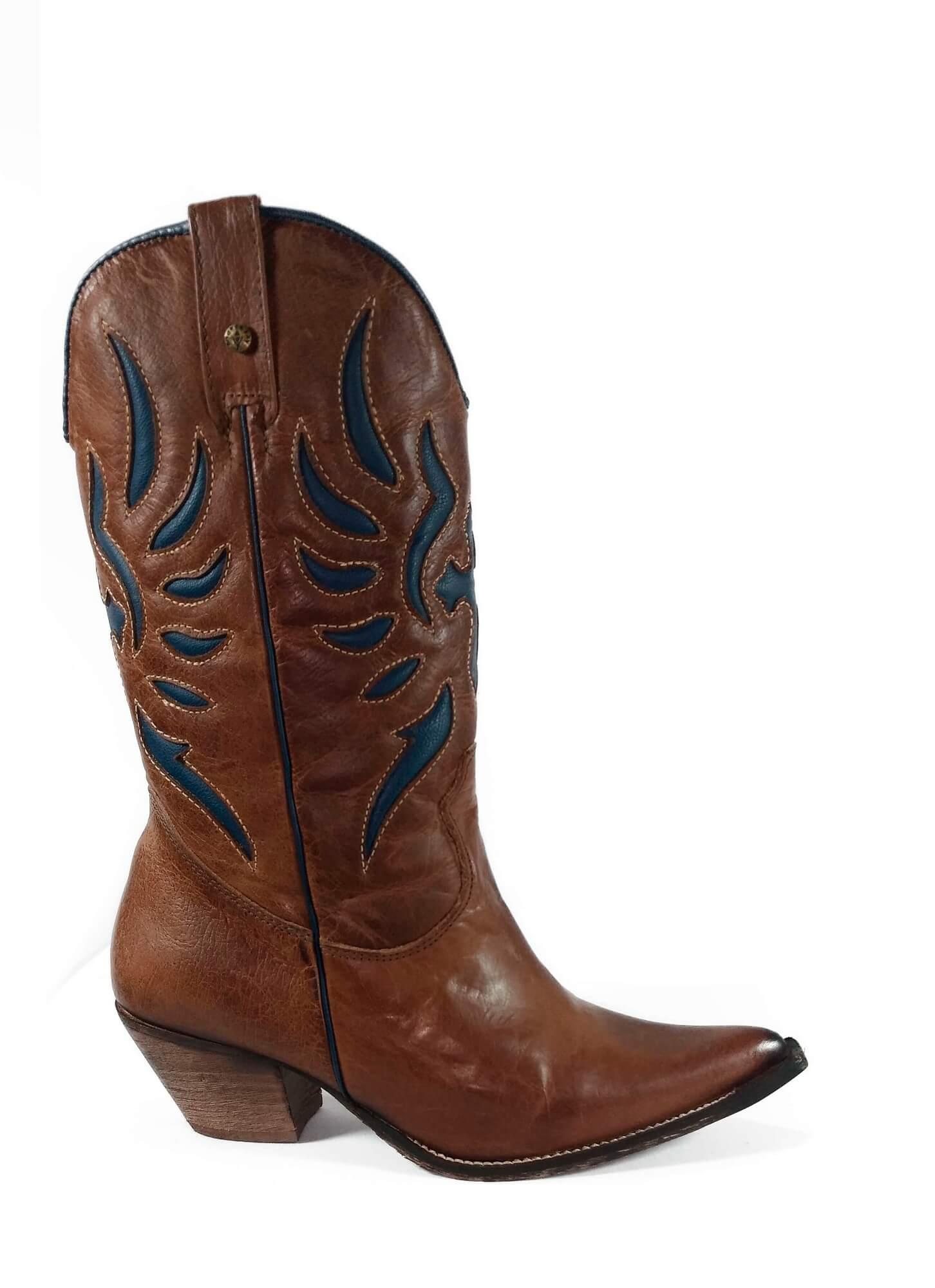 Bota Feminina Andarezzy Texas Soft Saar Ref. 5705