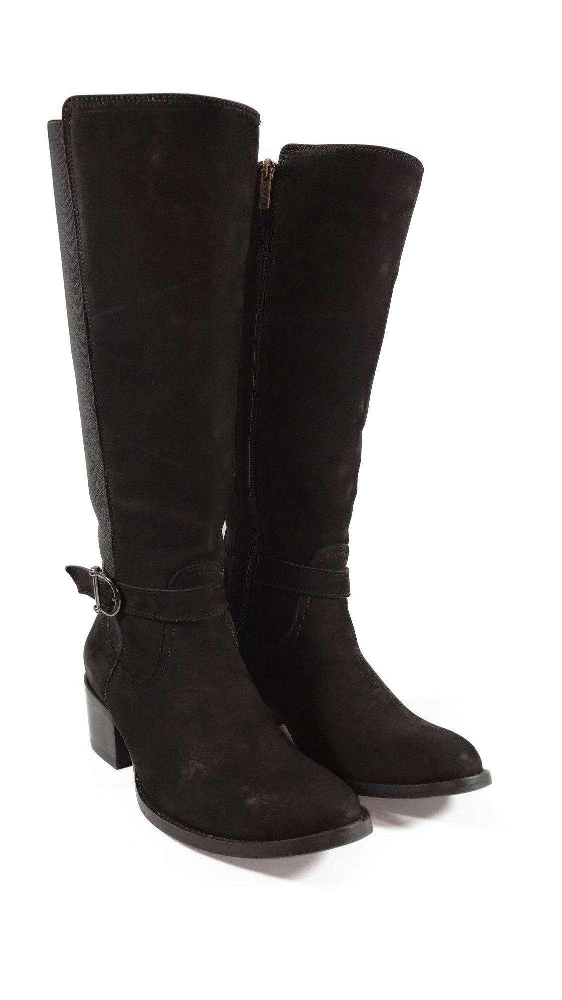 Bota Feminina Black Horse Nobuck/Neoprene Ref. 14065