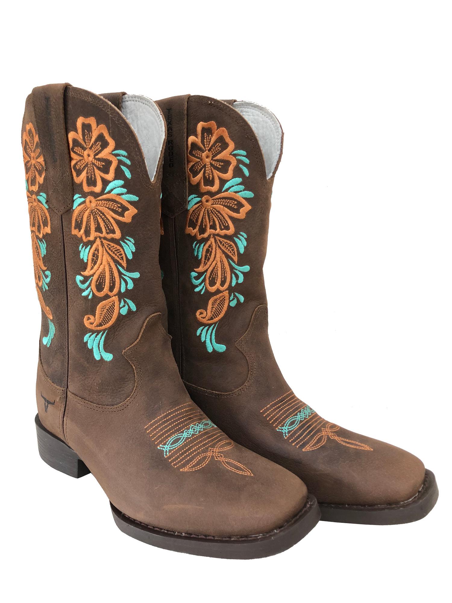 Bota Texas Rodeo Feminina Dallas/Dallas Floral TR322