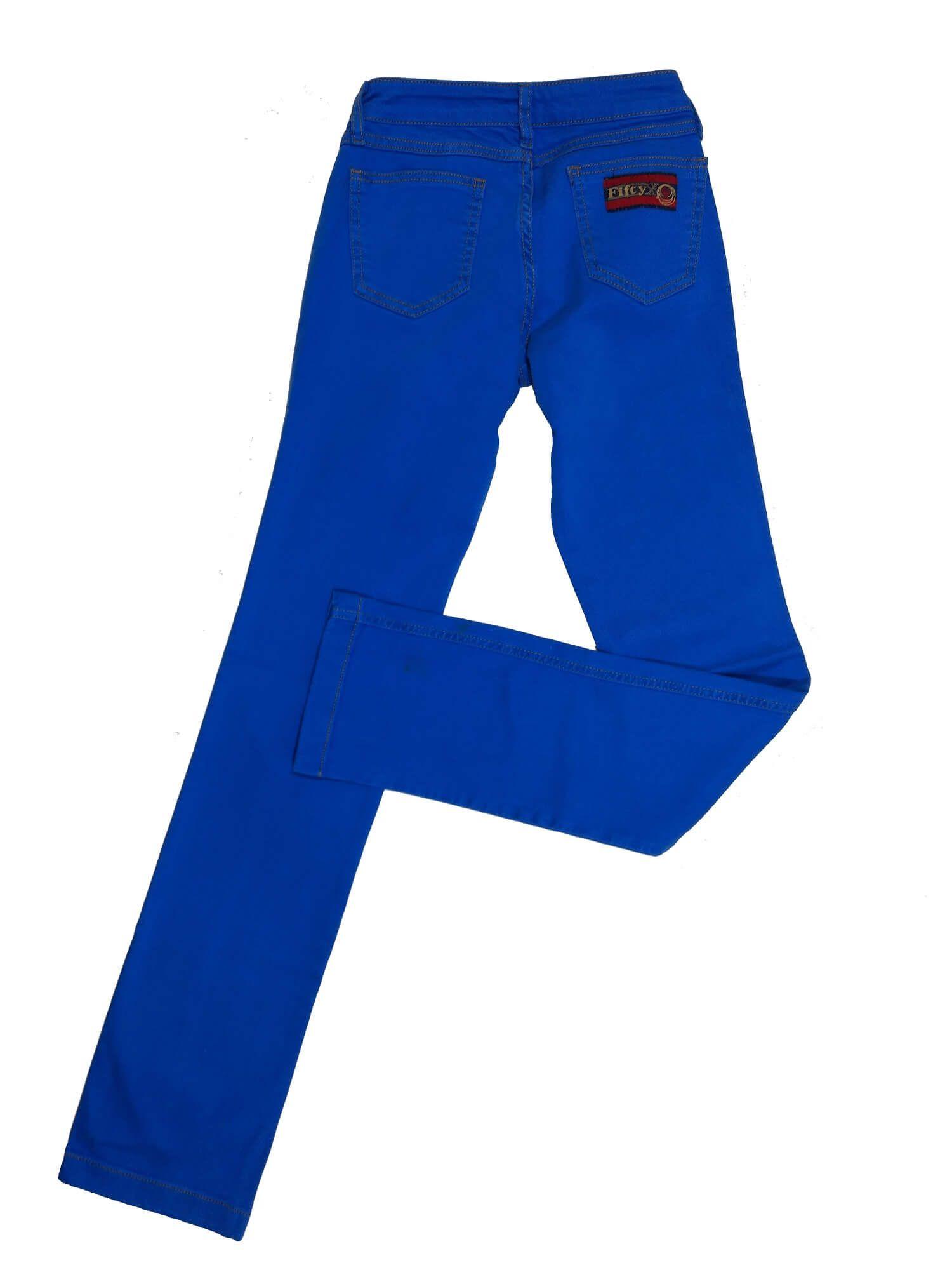 Calça Feminina 50X Azul Bic Ref. 5561