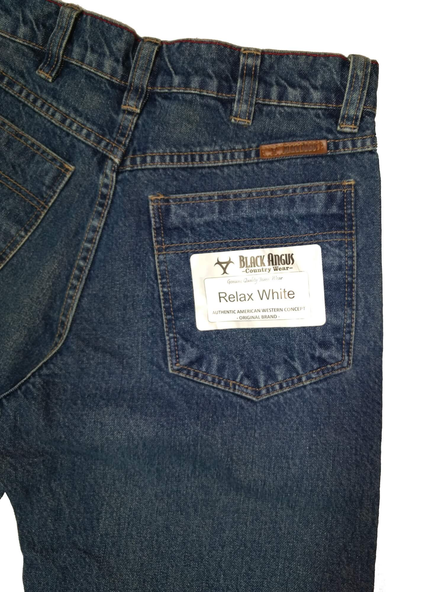 Calça Masculina Black Angus White Ref. 050018