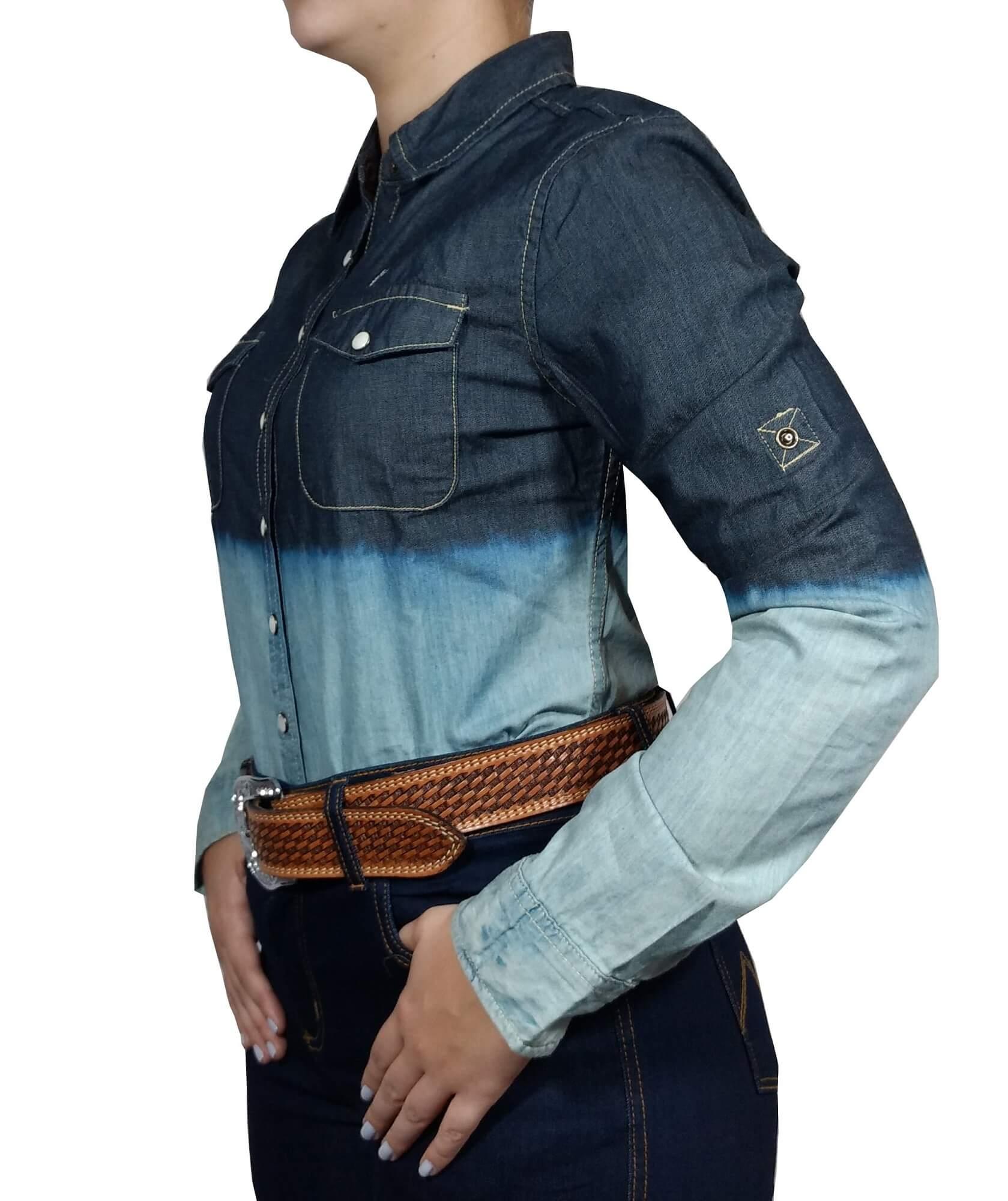 Camisa Feminina Dock's Jeans Ref. 599 32.1221.161.62