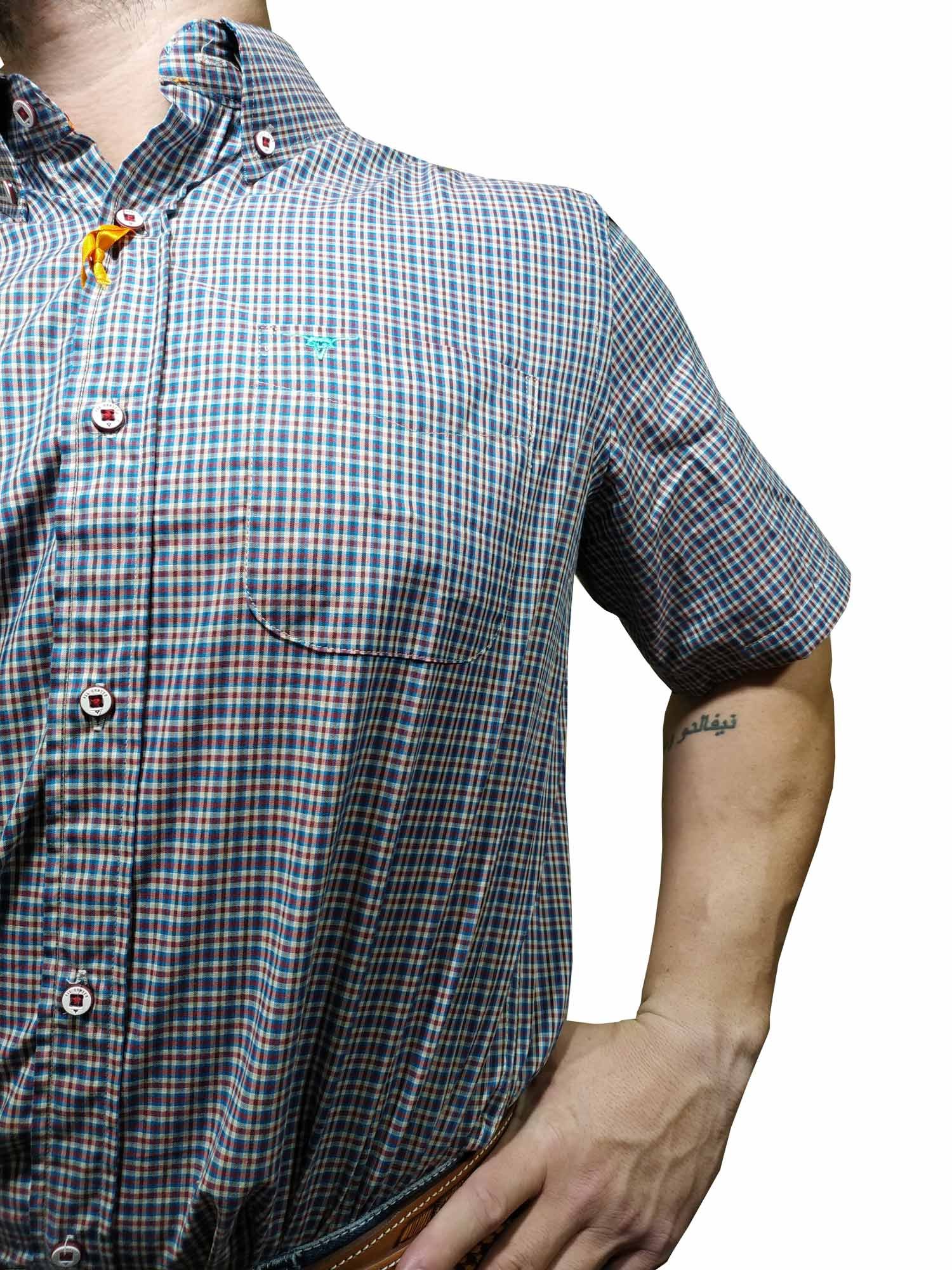 Camisa Masculina All Hunter Manga Curta Ref. 818