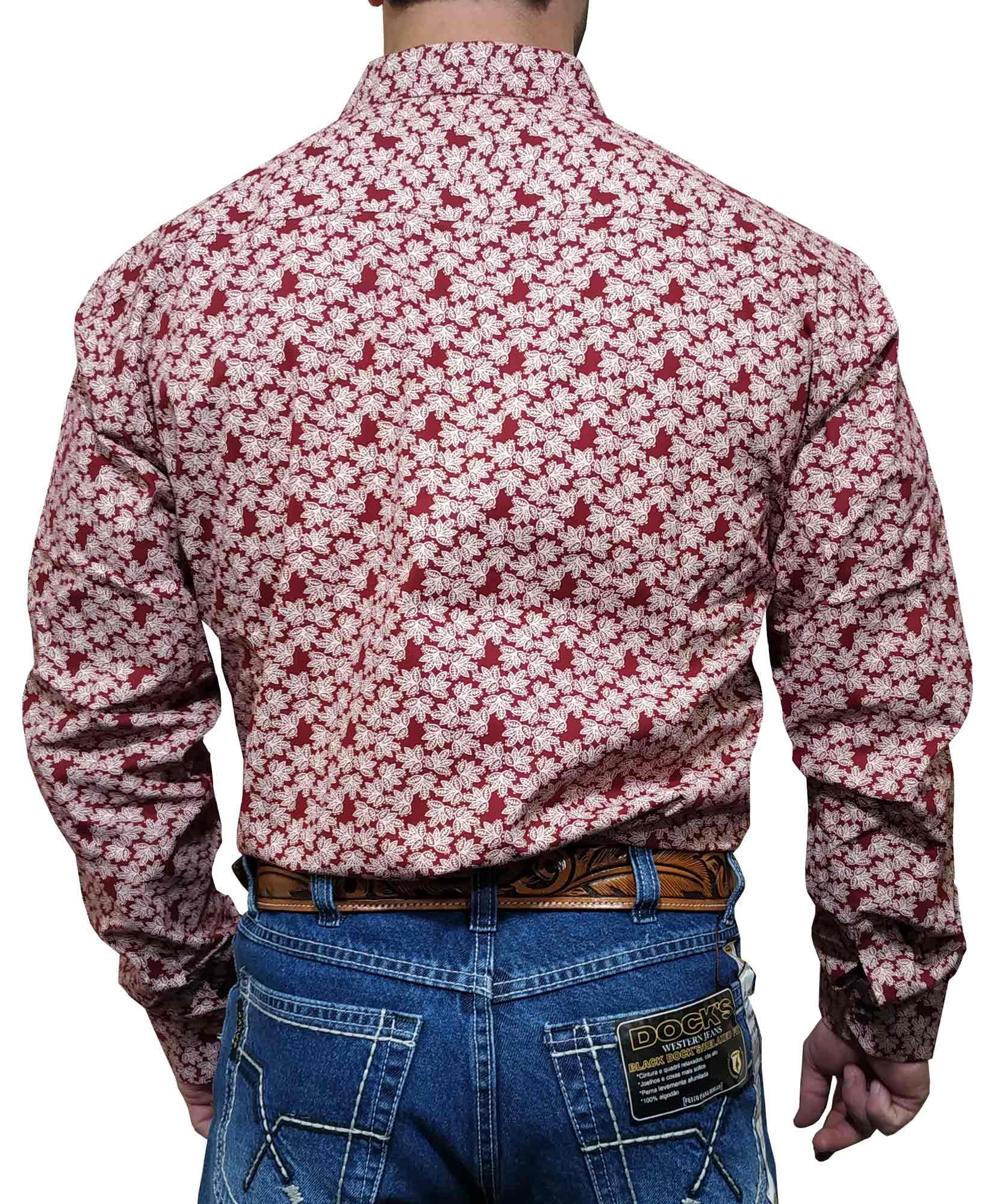 Camisa Masculina Minuty Ref. Estampada Flores