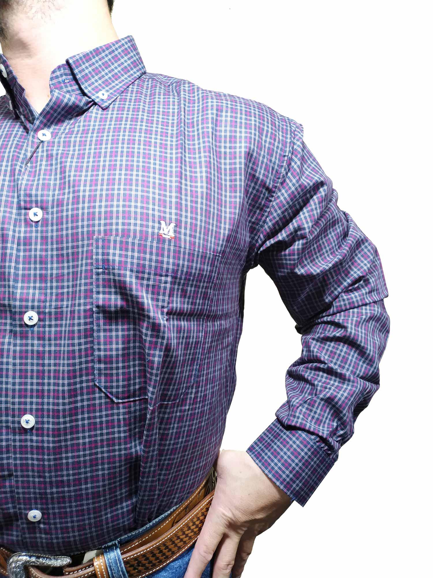 Camisa Masculina Minuty Ref. Xadrez 2910
