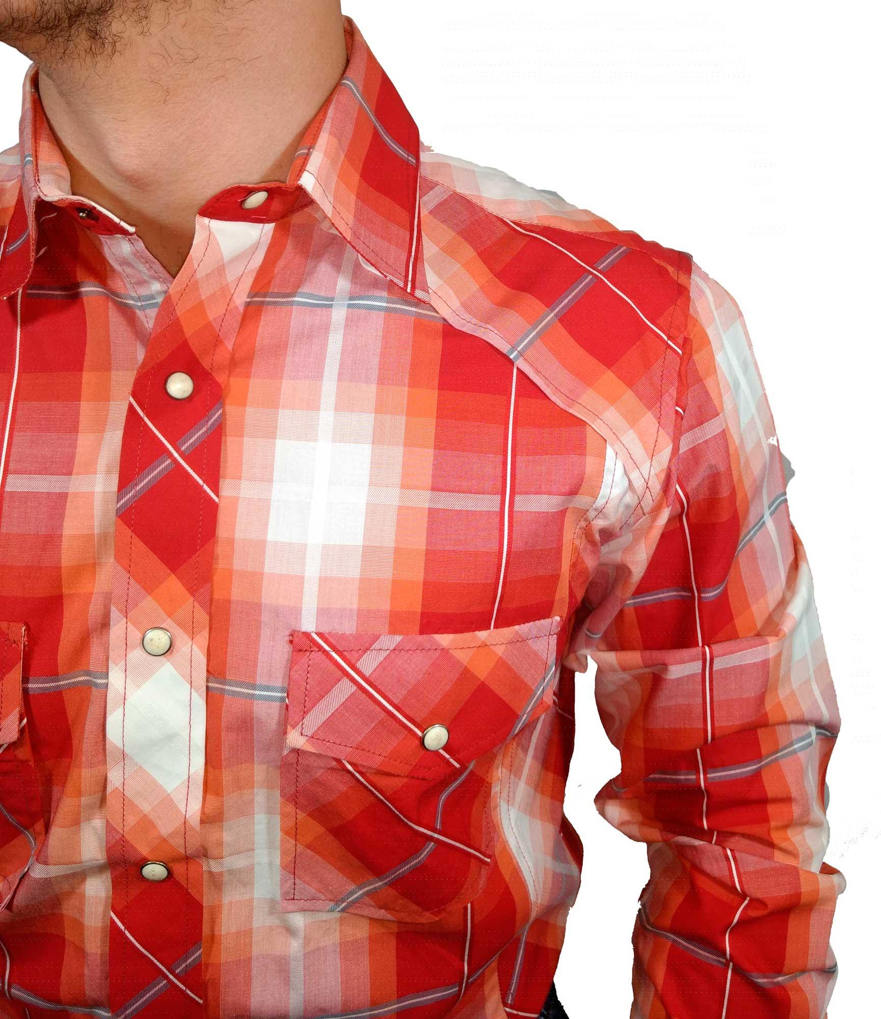 Camisa Masculina Resistol Importada Ref. 6556