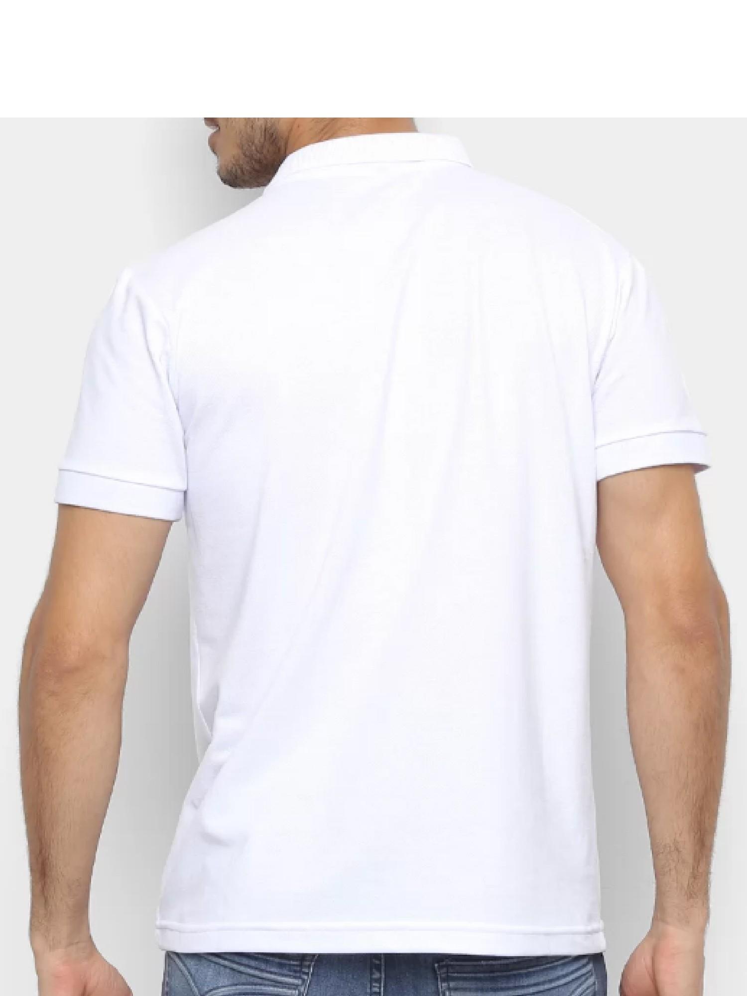 Camisa Polo Masculina Wrangler 20x Collection Ref. WM58519BR