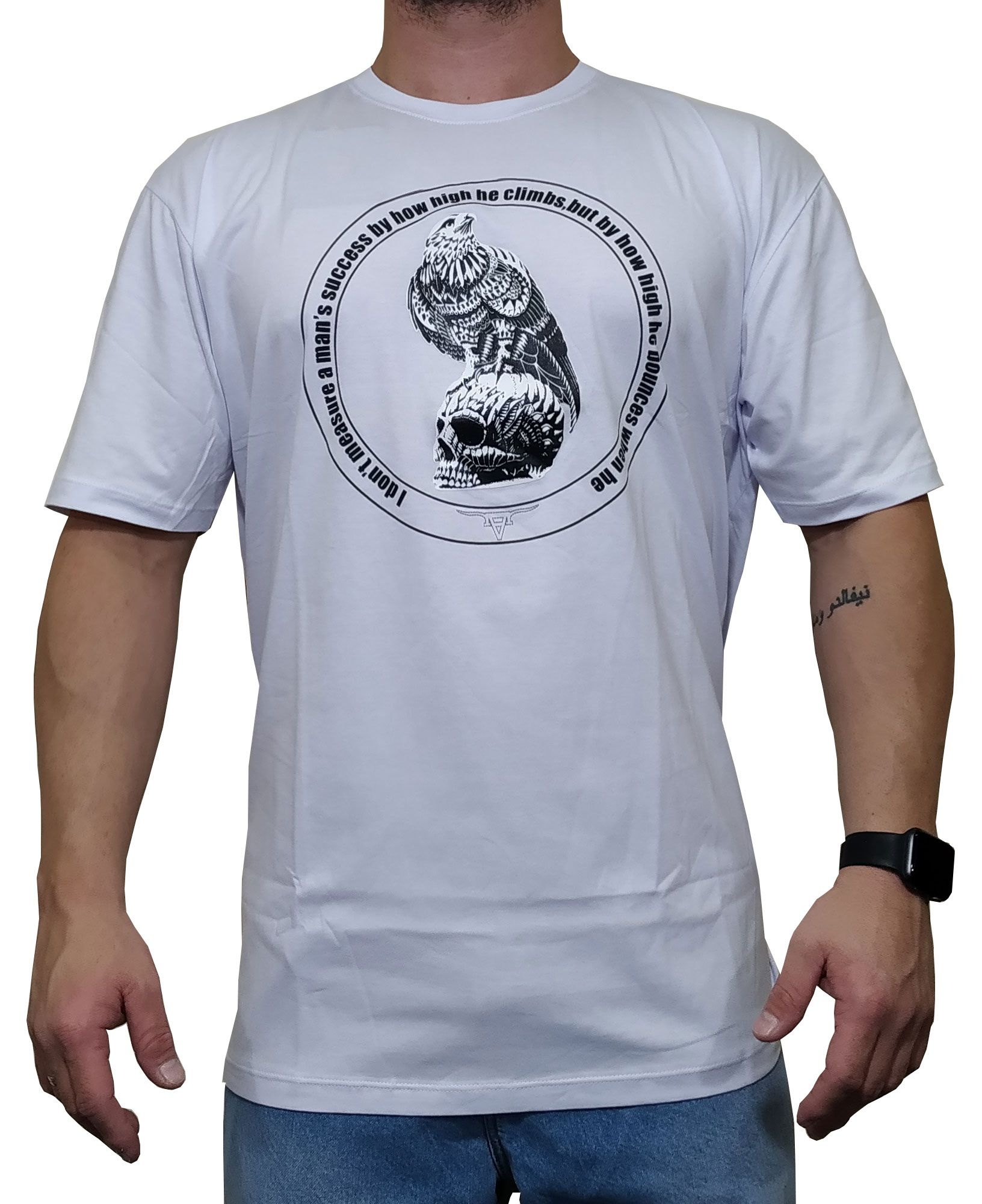 Camiseta All Hunter Branca Ref águia 346
