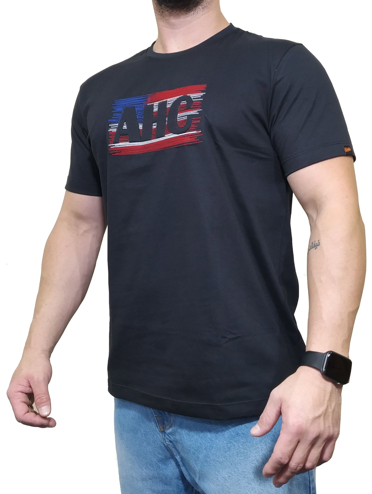 Camiseta All Hunter Preta Ref AHC 801