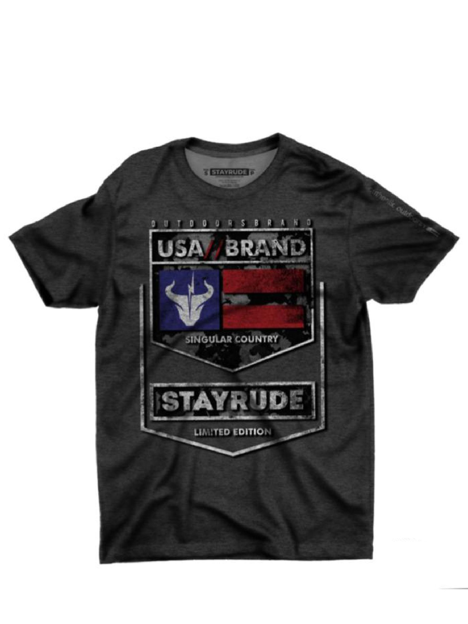 Camiseta Masculina Stay Rude Limited Edition Mescla