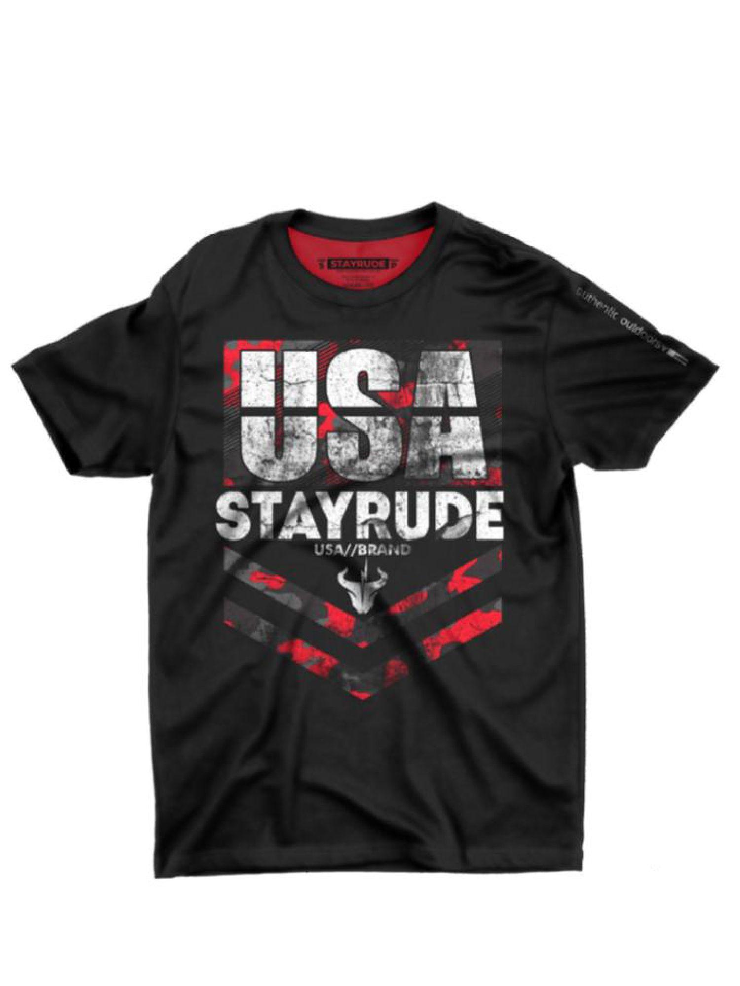 Camiseta Masculina Stay Rude U.S.A