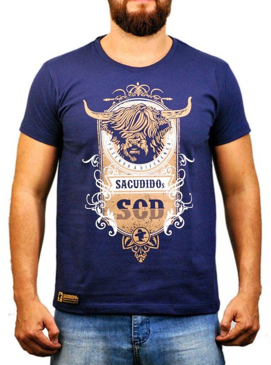 Camiseta Sacudido´s Boi Pelos Longos