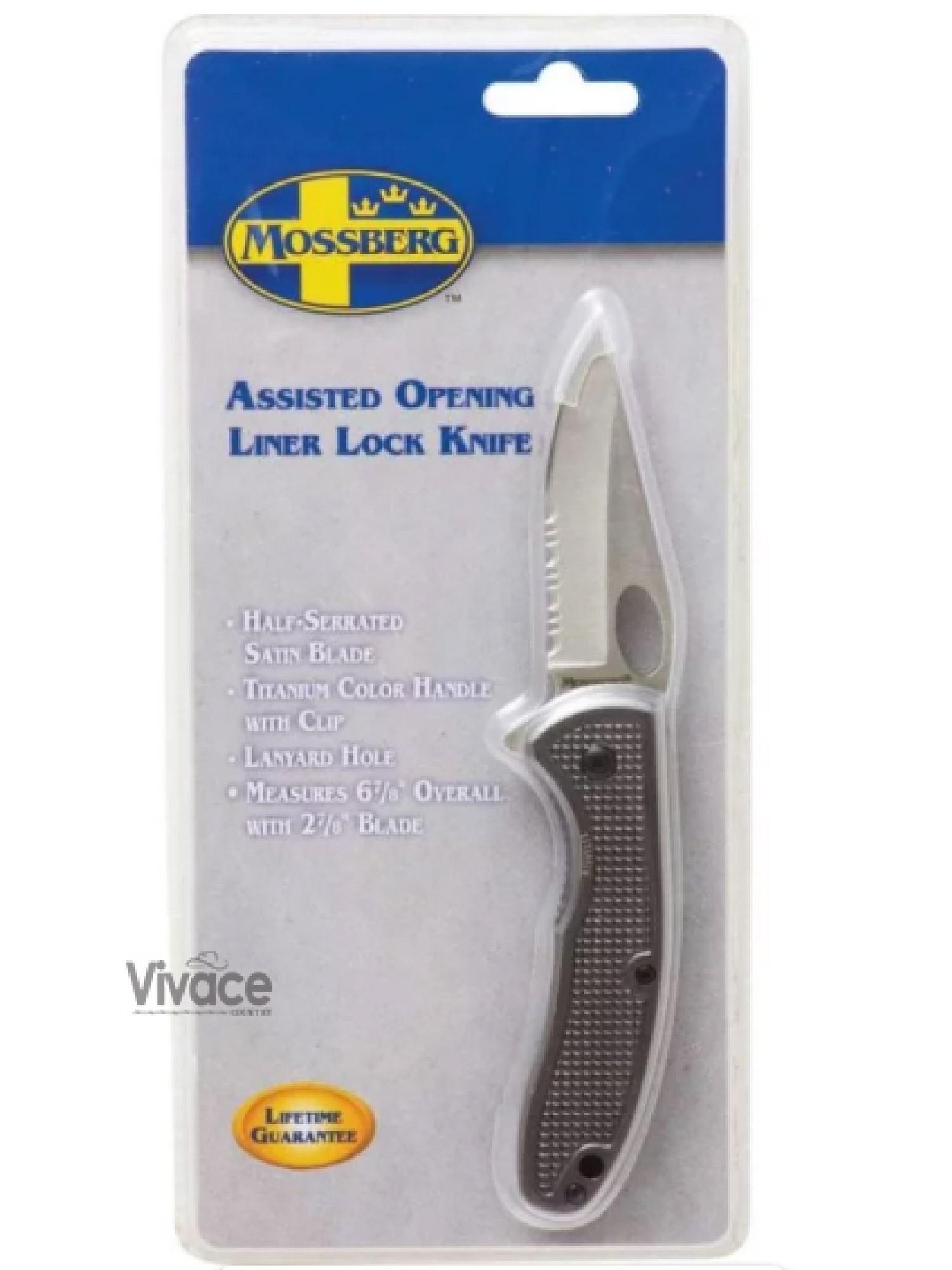 Canivete MossBerg Titanium Importado Ref. 128