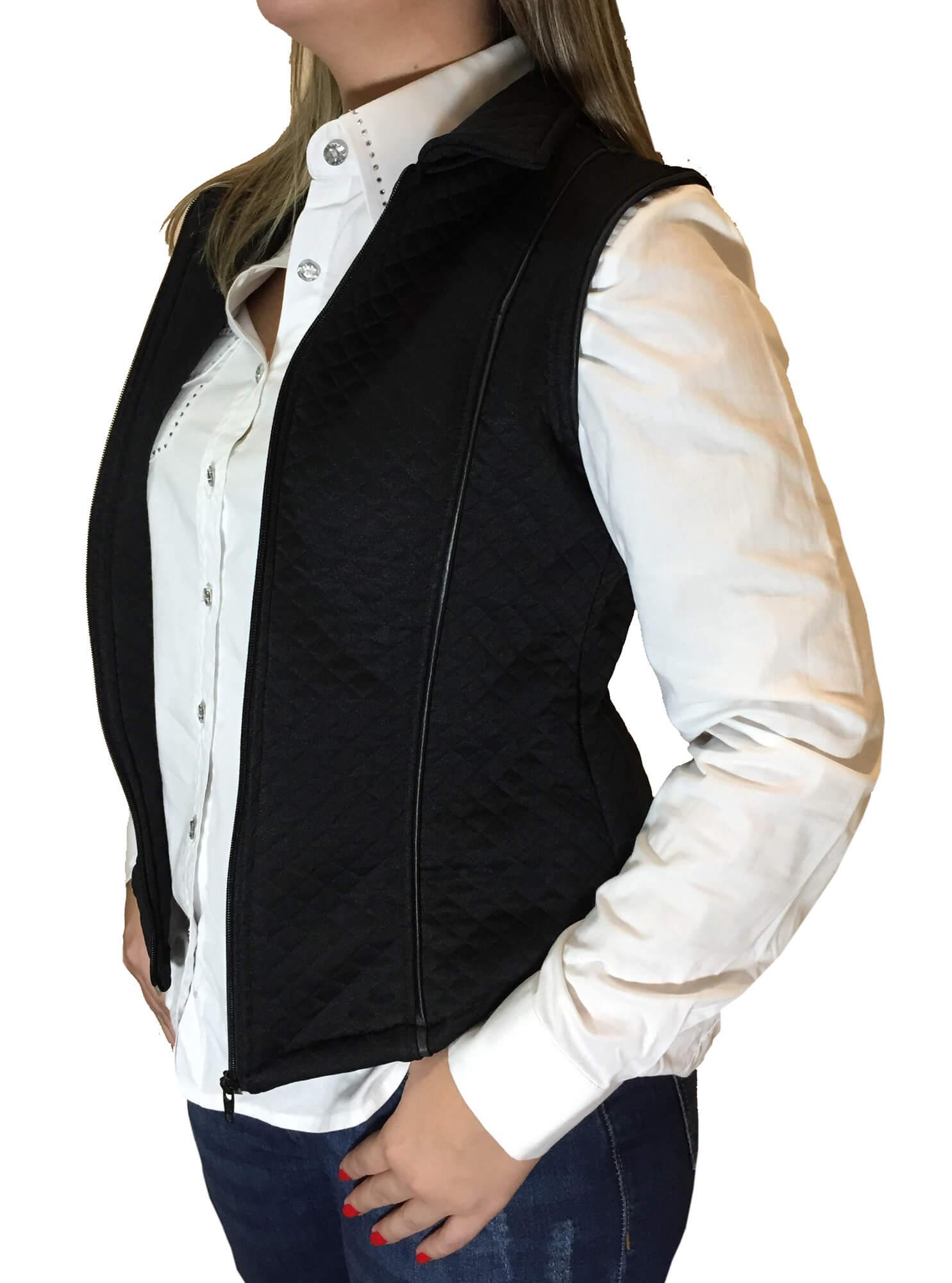 Colete Feminino Minuty Jeans Metalace Ref. 297