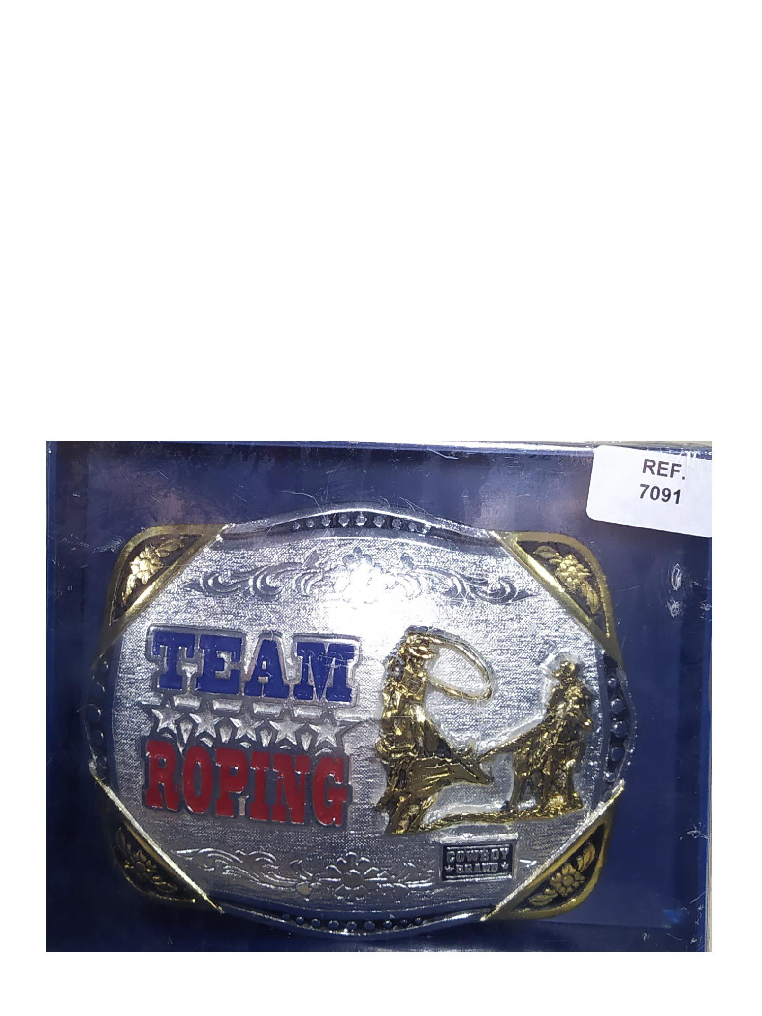 Fivela Cowboy Brand Team Roping Ref. 7091