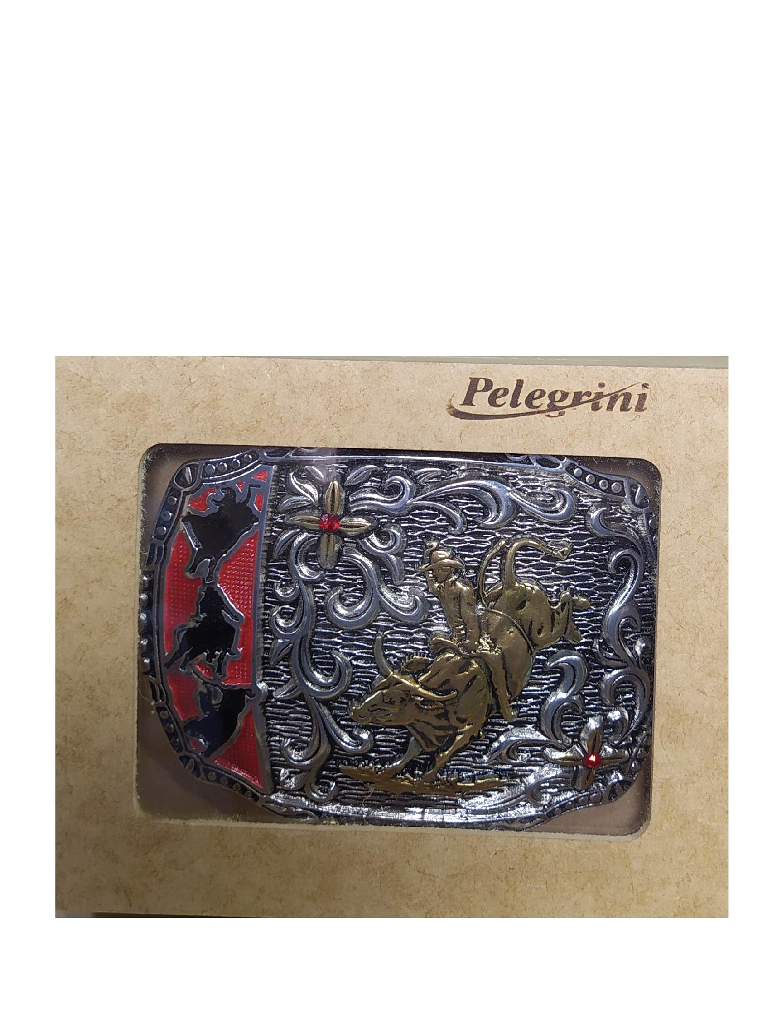 Fivela Pelegrini Bull Rider Ref. 5044