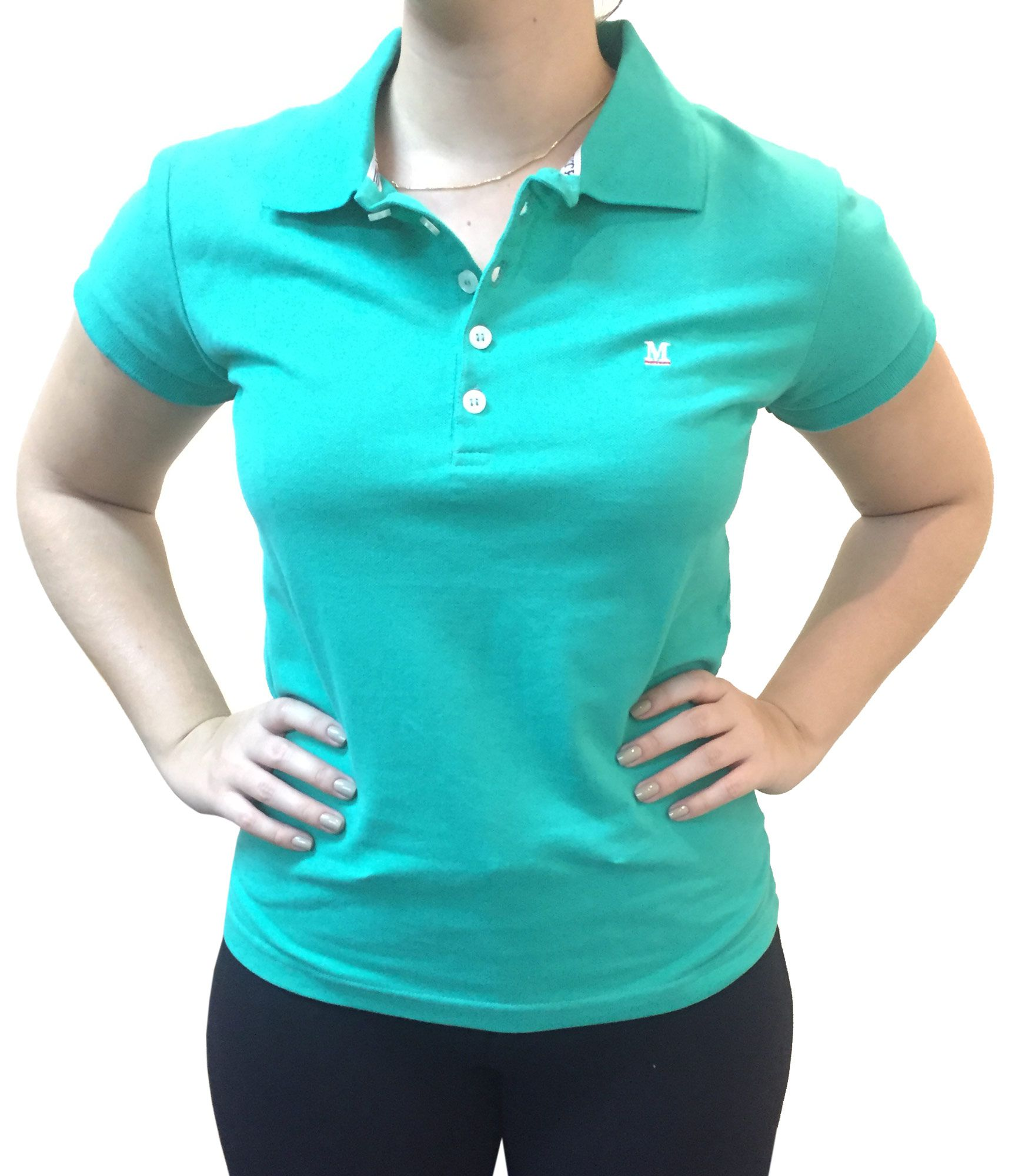 Polo Feminina Minuty Verde Ref. 2800