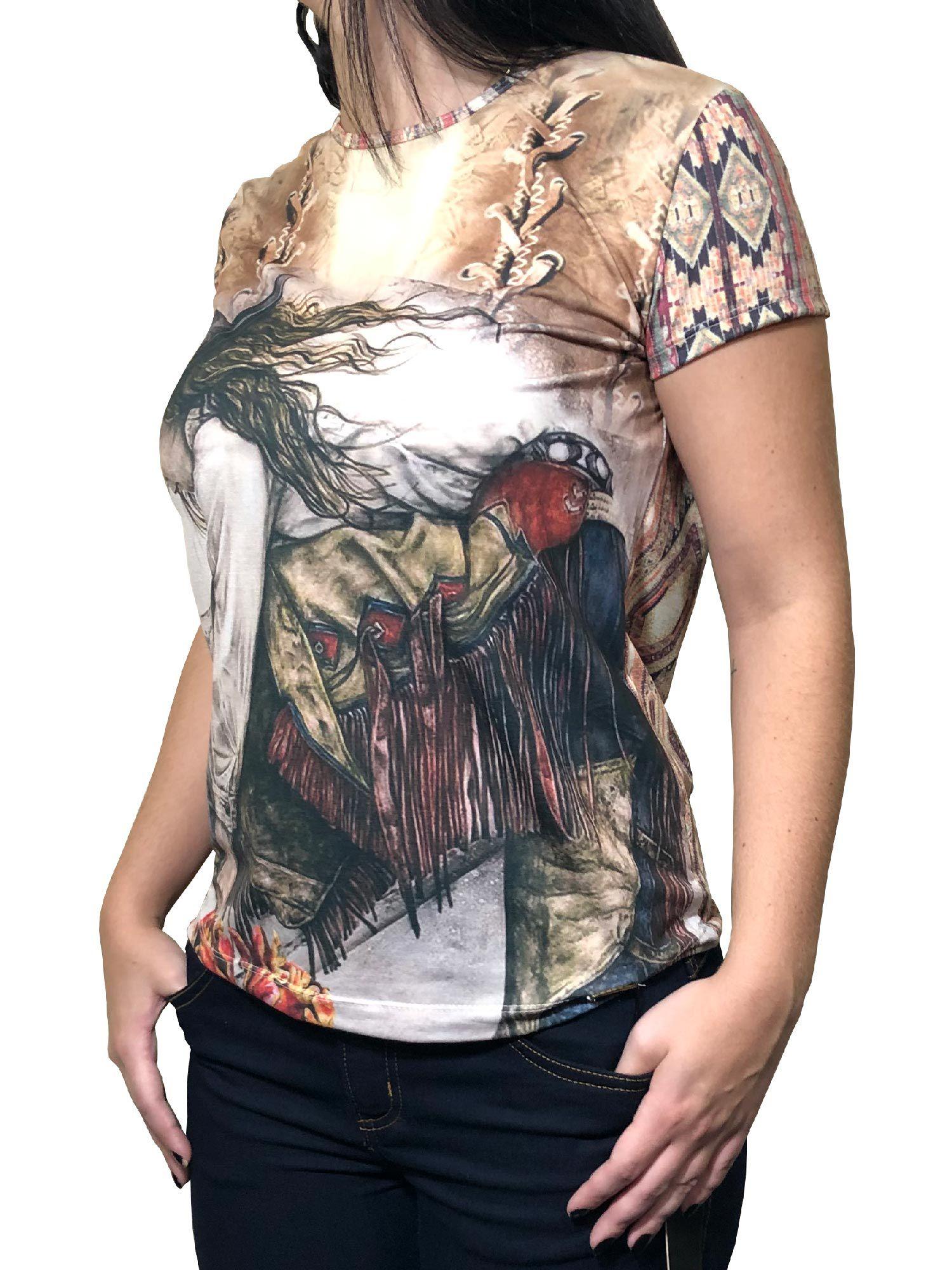 T-Shirt Feminina Minuty Ref. 2020