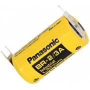 BATERIA DE LITHIUM 3V BR-2/3AE2SP 03 TERMINAIS SOLDA PCI PANASONIC (BR23AE2SP)