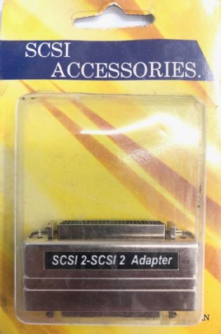 ADAPTADOR SCSI2 FEMEA PARA SCSI2 FEMEA AS138 (SCSI2F-SCSI2F)