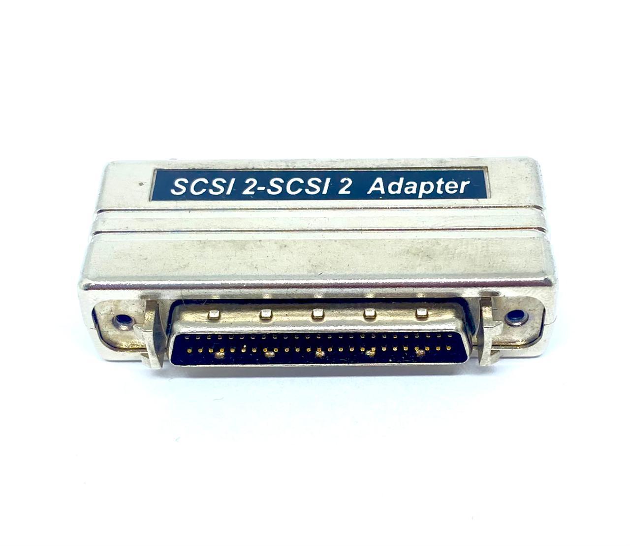 ADAPTADOR SCSI2 MACHO PARA SCSI2 MACHO AS137 (SCSI2M-SCSI2M)