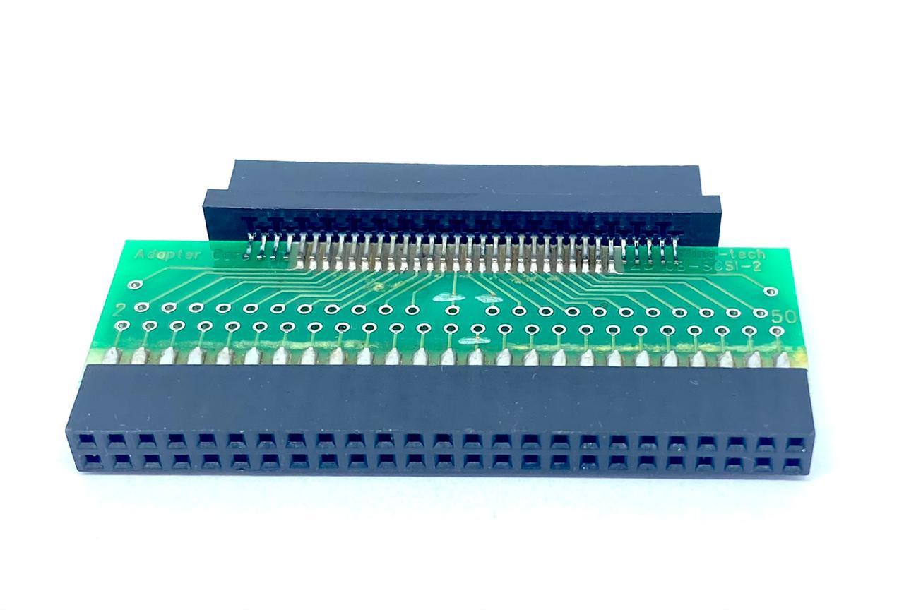 ADAPTADOR SCSI3 68VIAS MACHO PARA LATCH 50VIAS FÊMEA AS123