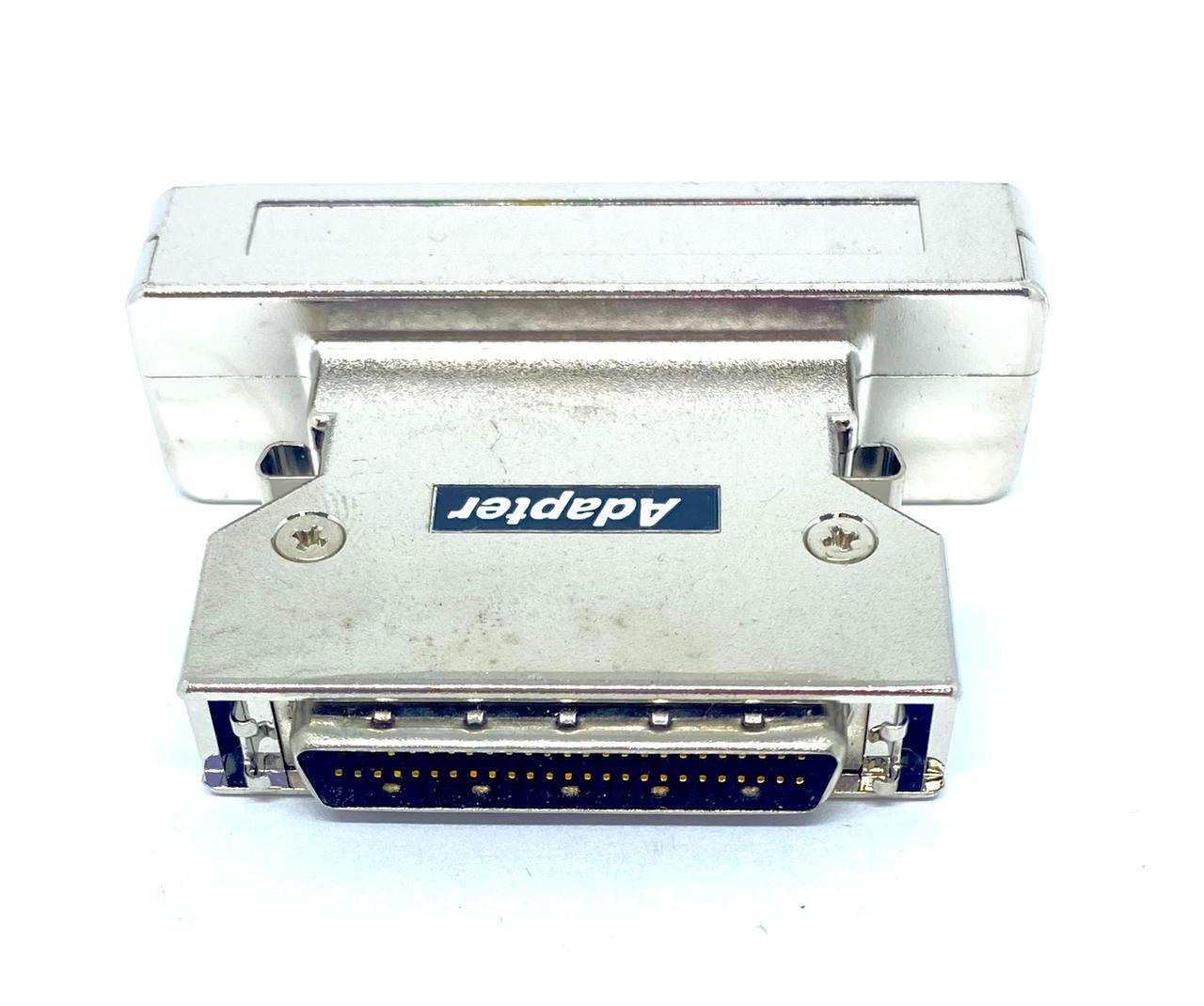 ADAPTADOR SCSI3 HD68 FEMEA PARA SCSI2 HD50 MACHO AS120 (SCSI3F-SCSI2M)