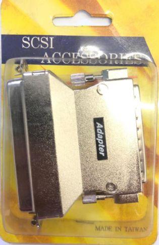 ADAPTADOR SCSI3 MACHO PARA SCSI FEMEA AS128 (SCSI3M-SCSIF)