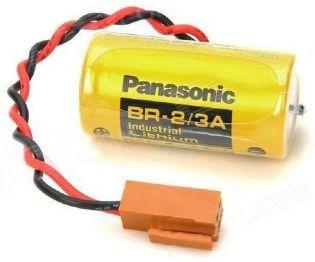 BATERIA DE LITHIUM 3V BR-2/3AC2P COM FIO E CONECTOR PANASONIC (BR23AC2P)