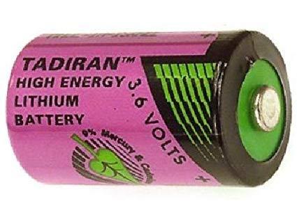 BATERIA DE LITHIUM 3,6V 1/2AA 1200mAh TL-4902/S TADIRAN (TL4902S)