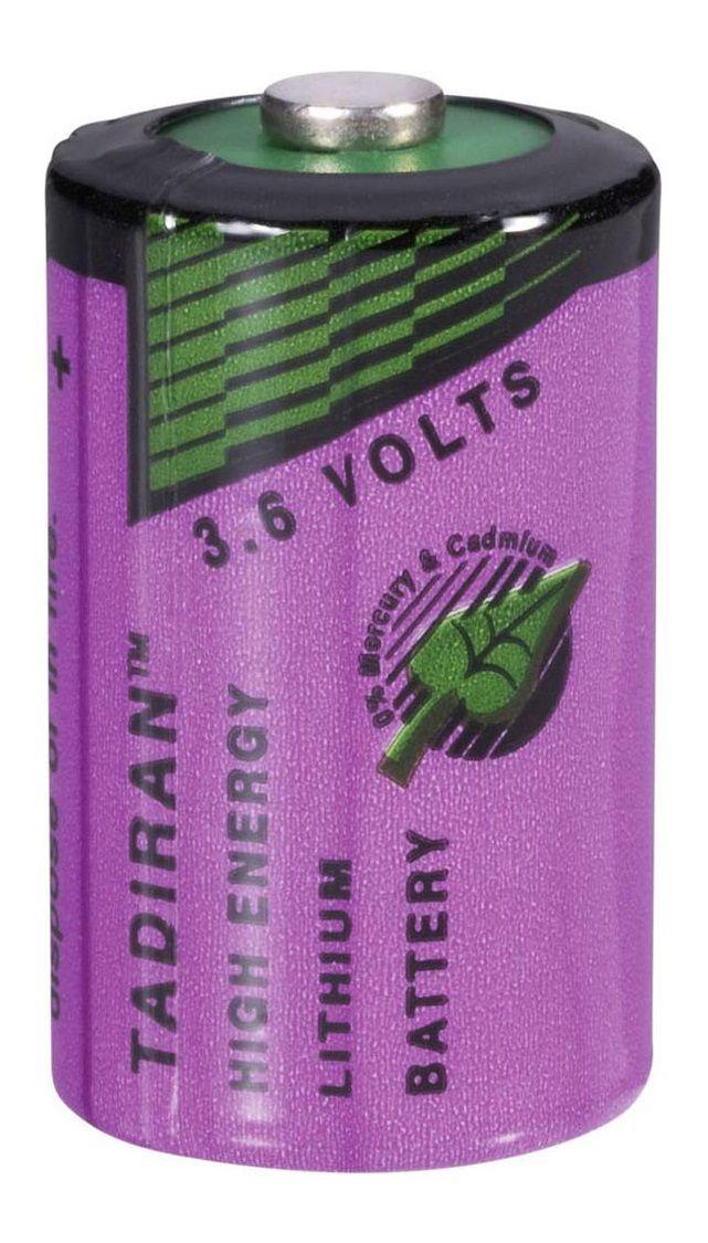 BATERIA DE LITHIUM 3,6V 1/2AA 1200mAh TL-5902/S TADIRAN (TL5902S)