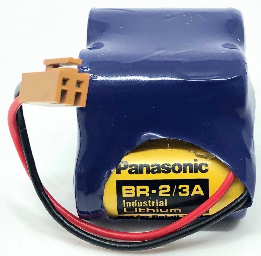 BATERIA DE LITHIUM 6V COM FIO E CONECTOR BR-2/3ACT4A PANASONIC (BR23ACT4A)