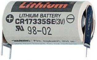 BATERIA DE LITHIUM 3V CR17335SE-FT1 03 TERMINAIS SOLDA PCI FDK_SANYO (CR17335SEFT1)