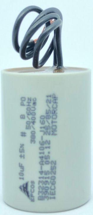 CAPACITOR PPM 10UF 380VCA/400VCA B32314-A4106-J017 36X51MM FIO EPCOS (B32314A4106J017)