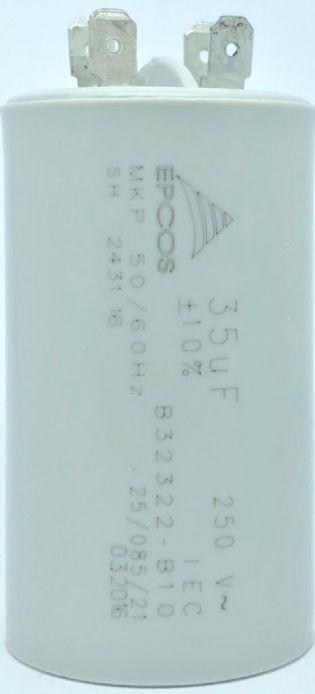CAPACITOR PPM 35UF 250VCA B32322-B10 40X71MM FASTON EPCOS (B32322B10)